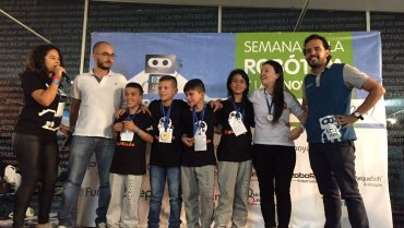 The Marina Orth Foundation excelled in robotics competition
